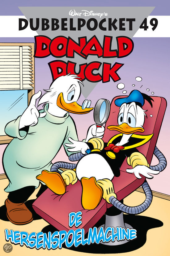Donald Duck dubbelpocket / 49 De hersenspoelmachine