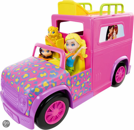 Polly Pocket Camper Safari