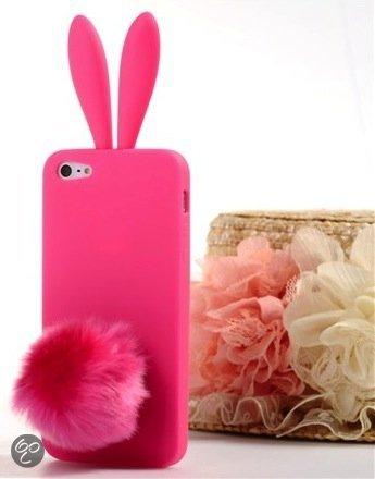 Bol Com Rabito Iphone 5 5s Bunny Case Konijnen Hoesje