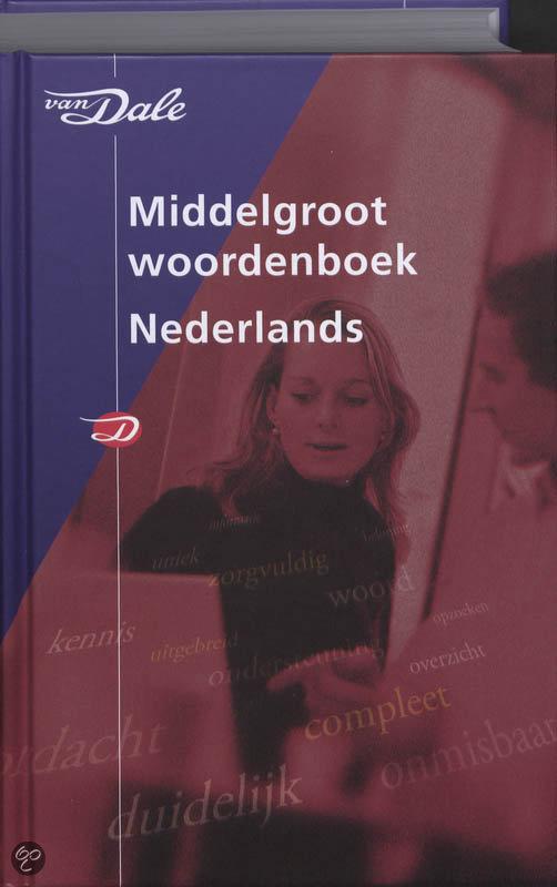 Van Dale Middelgroot woordenboek Nederlands