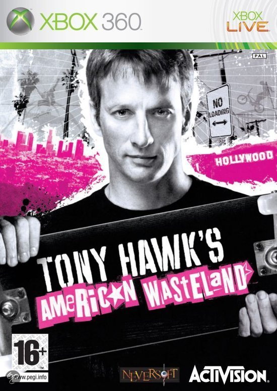 Tony Hawk's - American Wasteland