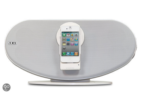 Akai ASB12WE - Docking station voor iPod, iPhone en iPad - Wit
