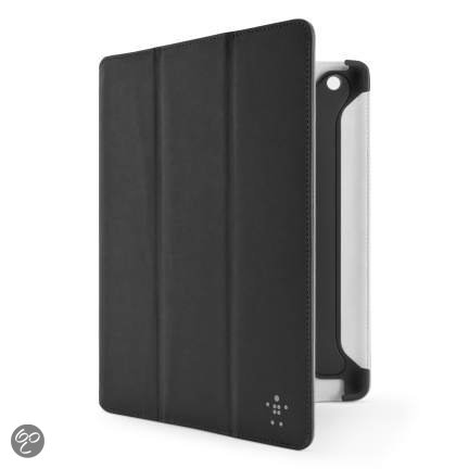Belkin Pro Color Duo Tri-Fold Folio Hoes voor iPad met 9.7 inch display - Zwart