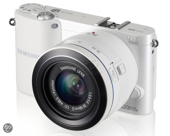 Samsung NX1000 + 20-50mm  - Systeemcamera - Wit