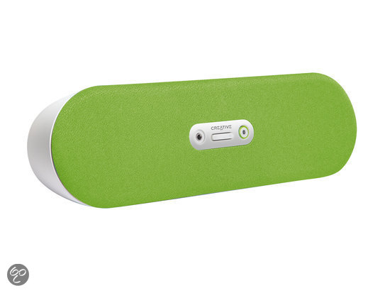 Creative D80 - Bluetooth-speaker - Groen