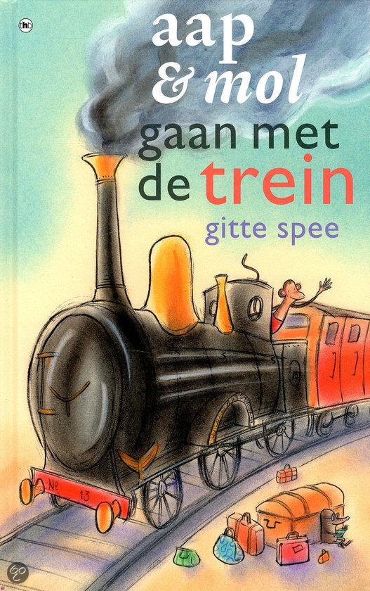 Aap en mol  / gaan met de trein