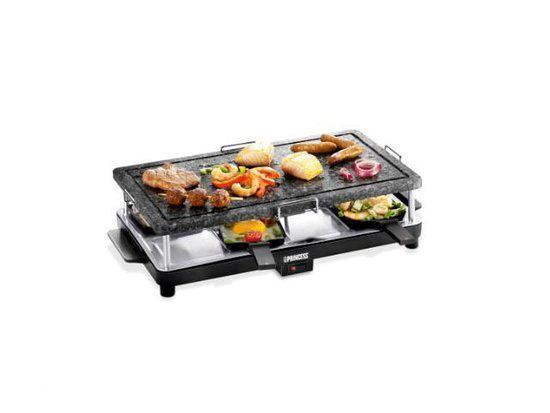 Princess Party 8 Steen-, Raclette & Grillset - 162352