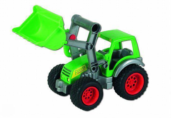 Wader Tractor met Voorgrafbak