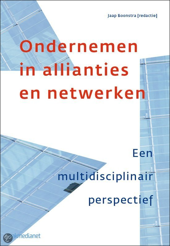 Ondernemen in allianties en netwerken
