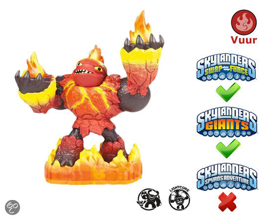 Skylanders Giants Hot Head - Giants Wii + PS3 + Xbox 360 + 3DS + Wii U