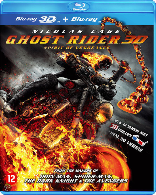 Ghost Rider - Spirit Of Vengeance (3D Blu-ray)