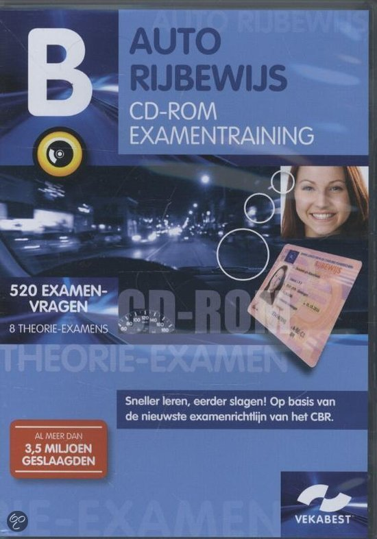 Autorijbewijs B  / Examentraining