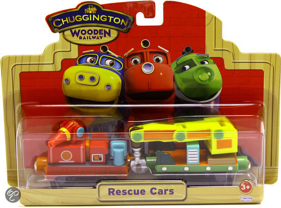 Chuggington Hout - Reddingswagonnen