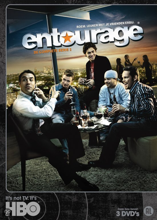 Entourage - Seizoen 2 (3DVD)
