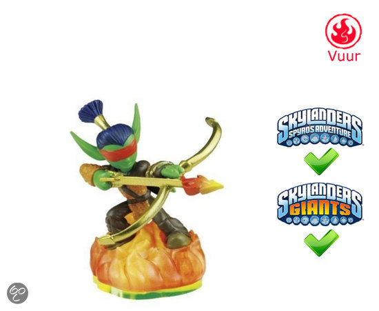Skylanders Spyro's Adventure Flameslinger  Wii + PS3 + Xbox 360 + 3DS + PC
