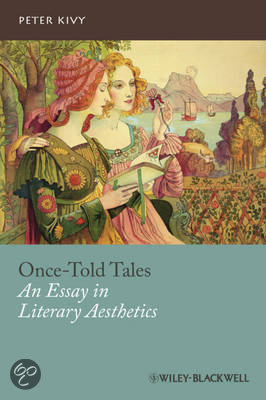 once-told tales an essay in literary aesthetics