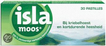 Isla Moos - 60 st - Keelpastilles