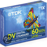 TDK 5 Pack Mini DV tapes 60