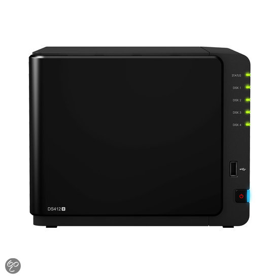 Synology DiskStation DS412+ - NAS server