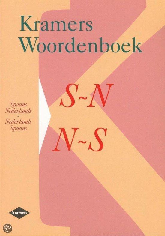 Kramers woordenboek / Spaans-Nederlands / Nederlands-Spaans in Serskamp