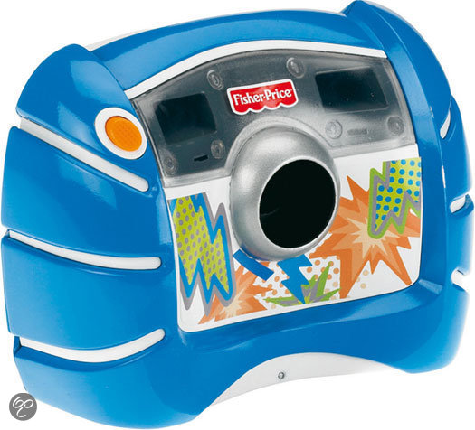 Fisher-Price Digitale Camera Blauw