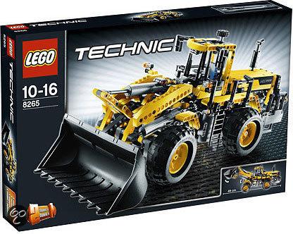 lego technic zware graafmachine 8265 lego. Black Bedroom Furniture Sets. Home Design Ideas