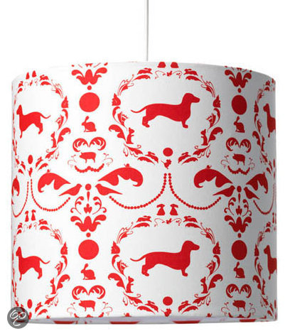 Coming Kids Jip Hanglamp - Rood