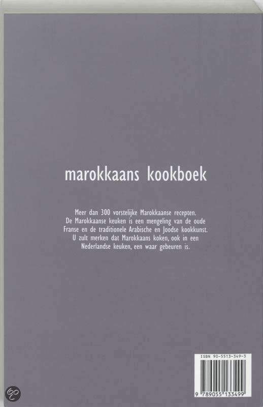 Engelse Keuken Kookboek : bol com Marokkaans kookboek, H Moumen 9789055133499