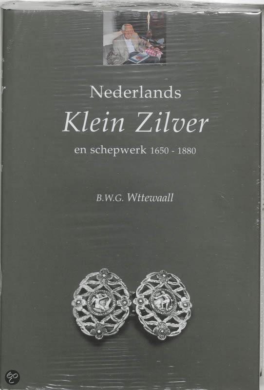 Cover van het boek 'Nederlands klein zilver en schepwerk'