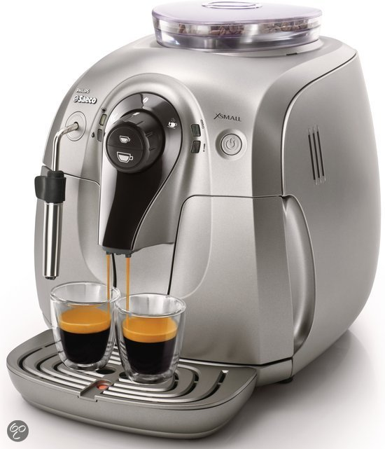 Saeco Xsmall HD8747/01 - Volautomaat espressomachine - Zilver