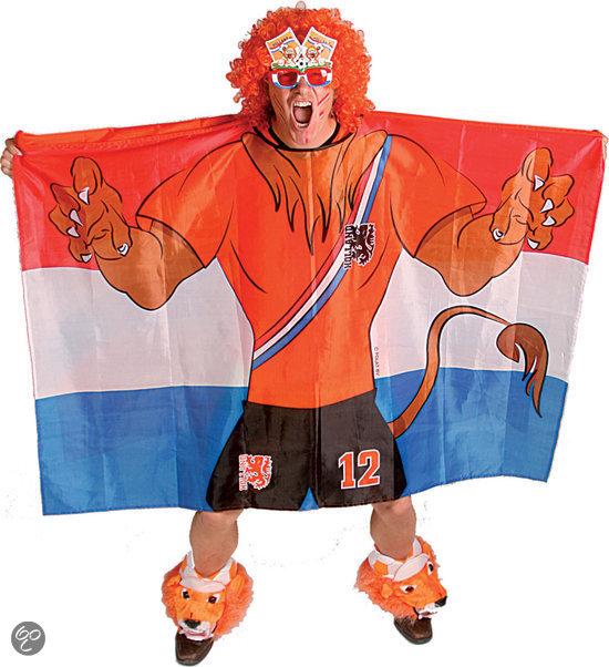 Vlag Poncho 150 x 100 cm, NL Leeuw