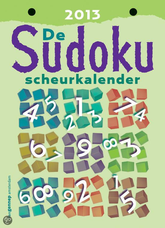 Quizzen.nl - Sudoku Scheurkalender 2013   Spelletjes
