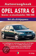 Vraagbaak Opel Astra G / Benzine- en dieselmodellen 1998-1999