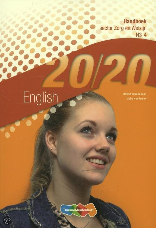 20/20  / English Sector zorg en welzijn N3-4 / deel Handboek