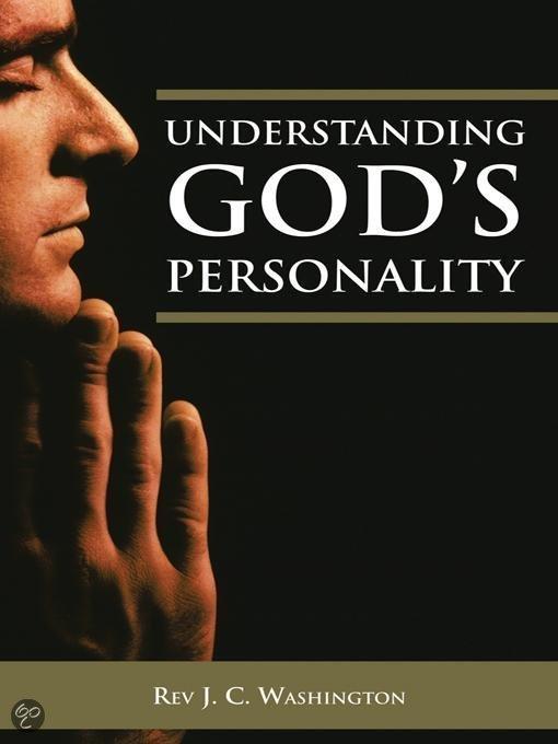 UNDERSTANDING GOD'S PERSONALITY