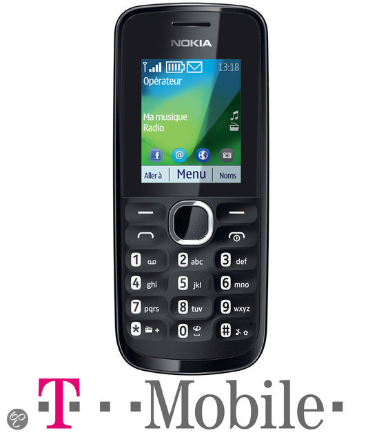 Nokia 113 - Zwart - T-Mobile prepaid telefoon