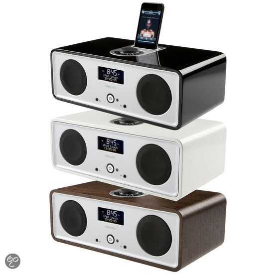 Vita Audio R2i - Wekkerradio met iPod dockingstation - Zwart
