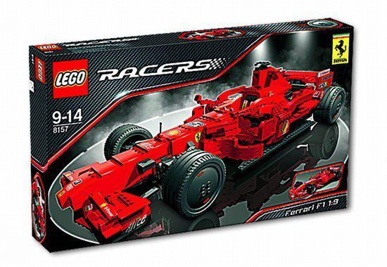 lego ferrari f1 1 9 8157 lego. Black Bedroom Furniture Sets. Home Design Ideas