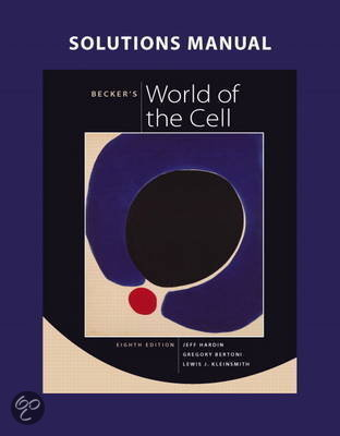 Becker's World Of The Cell, 9th Edition Download