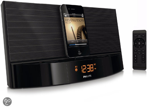 Philips AJ7041D - Dockingstation met wekkerradio