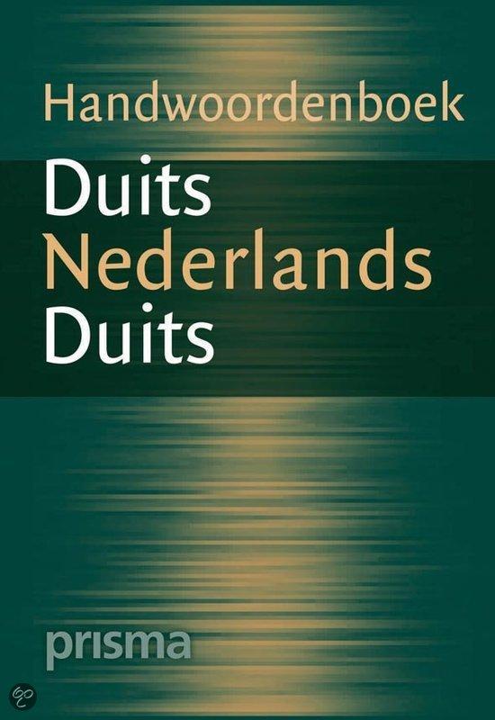 Prisma Handwoordenboek Duits-Nederlands, Nederlands Duits in Berghuizen