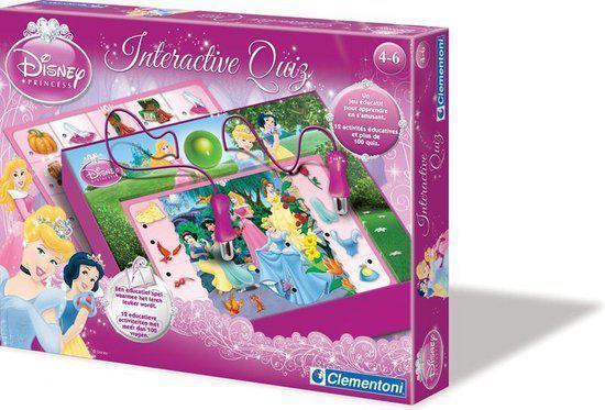 Clementoni Interactieve Quiz - Prinsessen