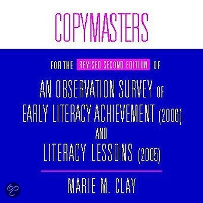 SURVEY MARIE OBSERVATION CLAY PDF