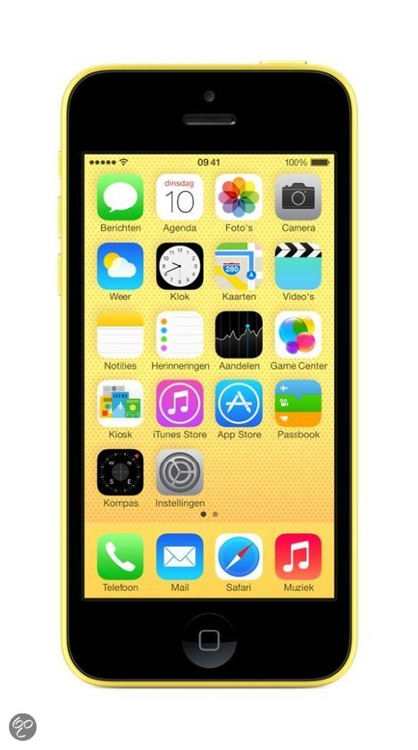Smartphone APPLE IPHONE 5C JAUNE 16GO