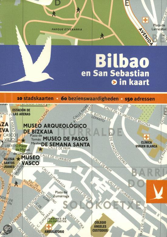 Bilbao en San Sebastian in kaart