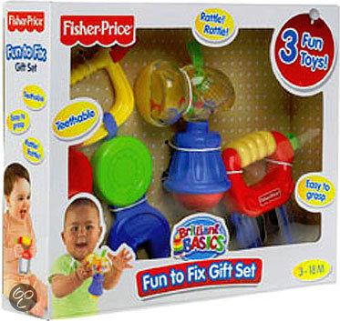 Fisher-Price Brilliant Basics Klusser Cadeauset