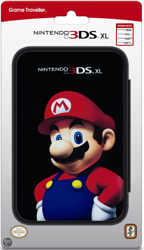 Bigben Mario Character Pouch 3DS XL