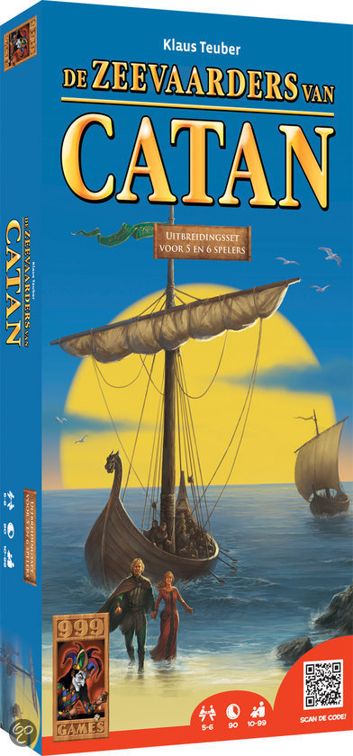 De kolonisten van Catan: De Zeevaarders van Catan - Uitbreidingset voor 5 of 6 Spelers