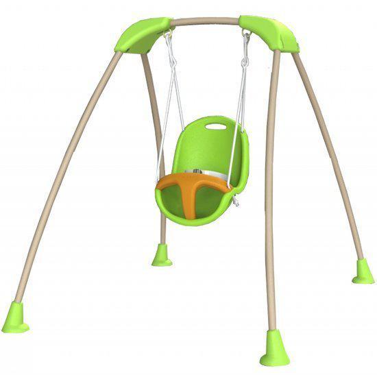 Inklapbare schommel met veilig babyzitje for Wickey altalena