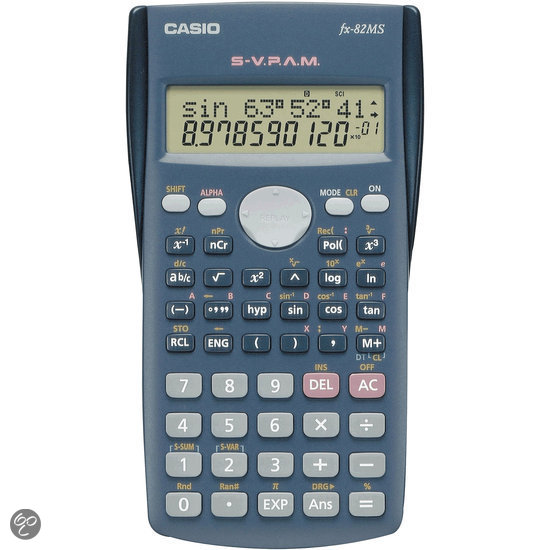 CASIO FX-82MS - Wetenschappelijke Rekenmachine